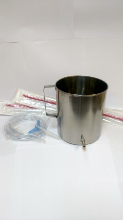 Stainless Steel Enema Kit #1