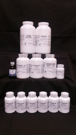 90 Day Gerson Basic Kit-BEST VALUE! Free shipping in USA!! ****************** BIG SAVINGS OVER RETAIL PRICES!