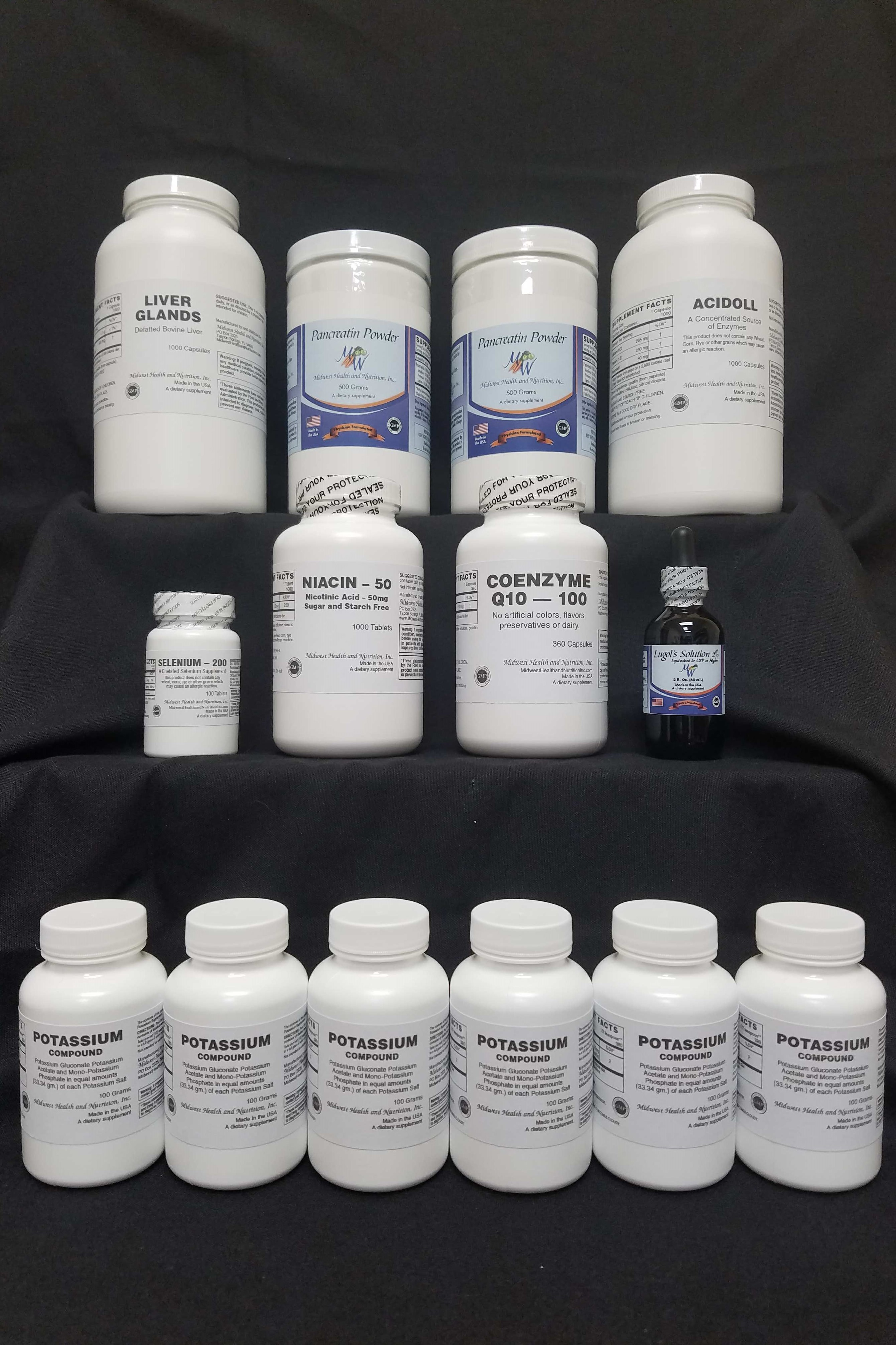 90 Day Gerson Advanced Protocol Kit 2 BEST VALUE!!!! Free shipping in USA!!  BIG SAVINGS OVER RETAIL PRICES!