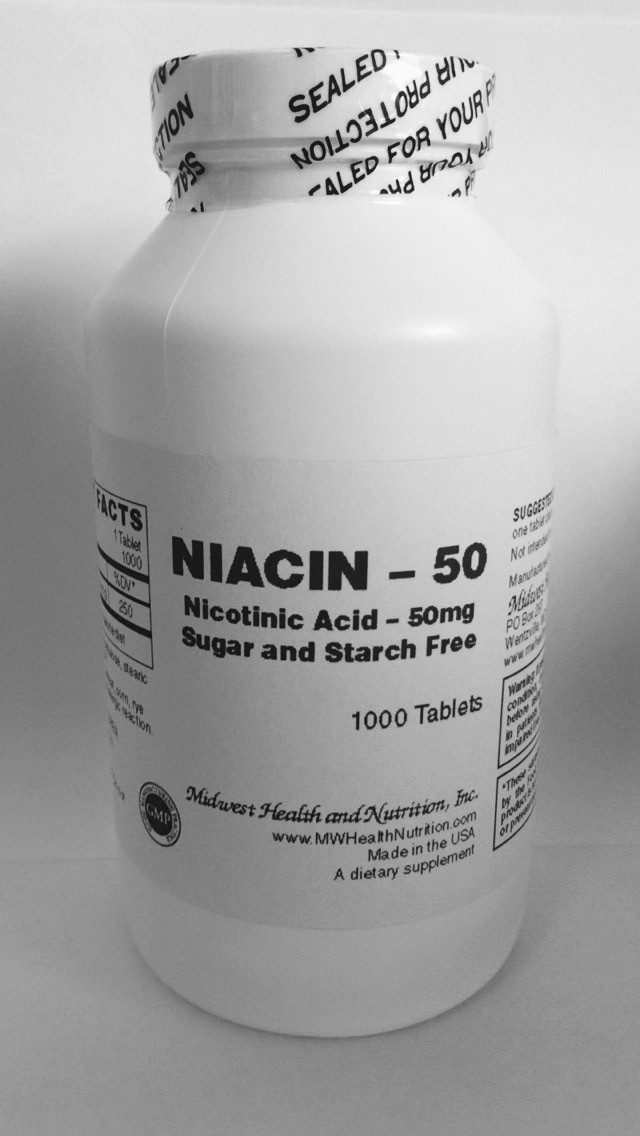 Niacin-50 Tablets 1000 count
