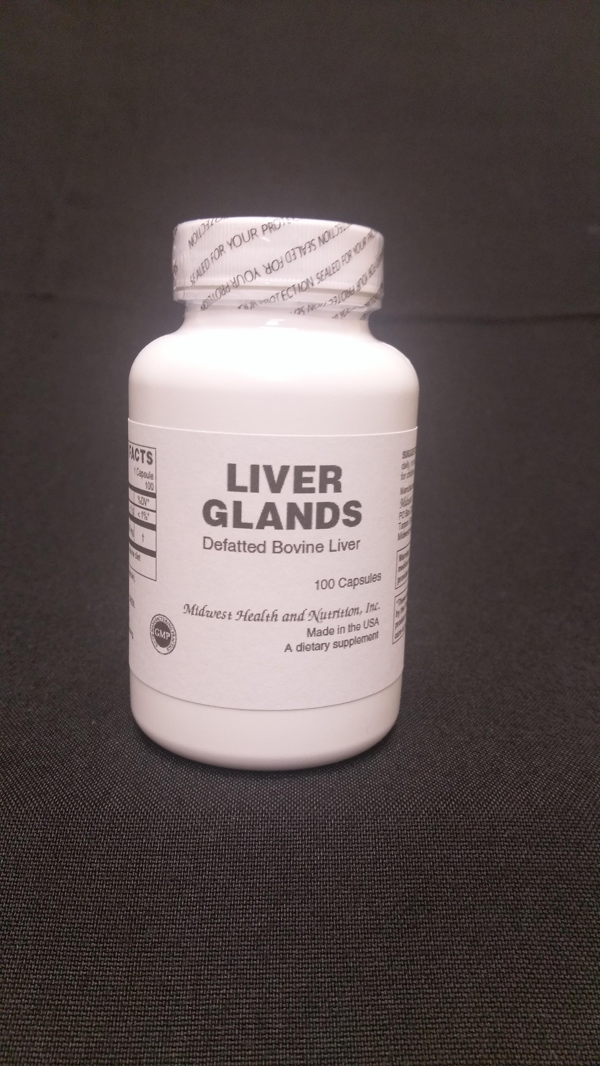 Liver Capsules 100 count