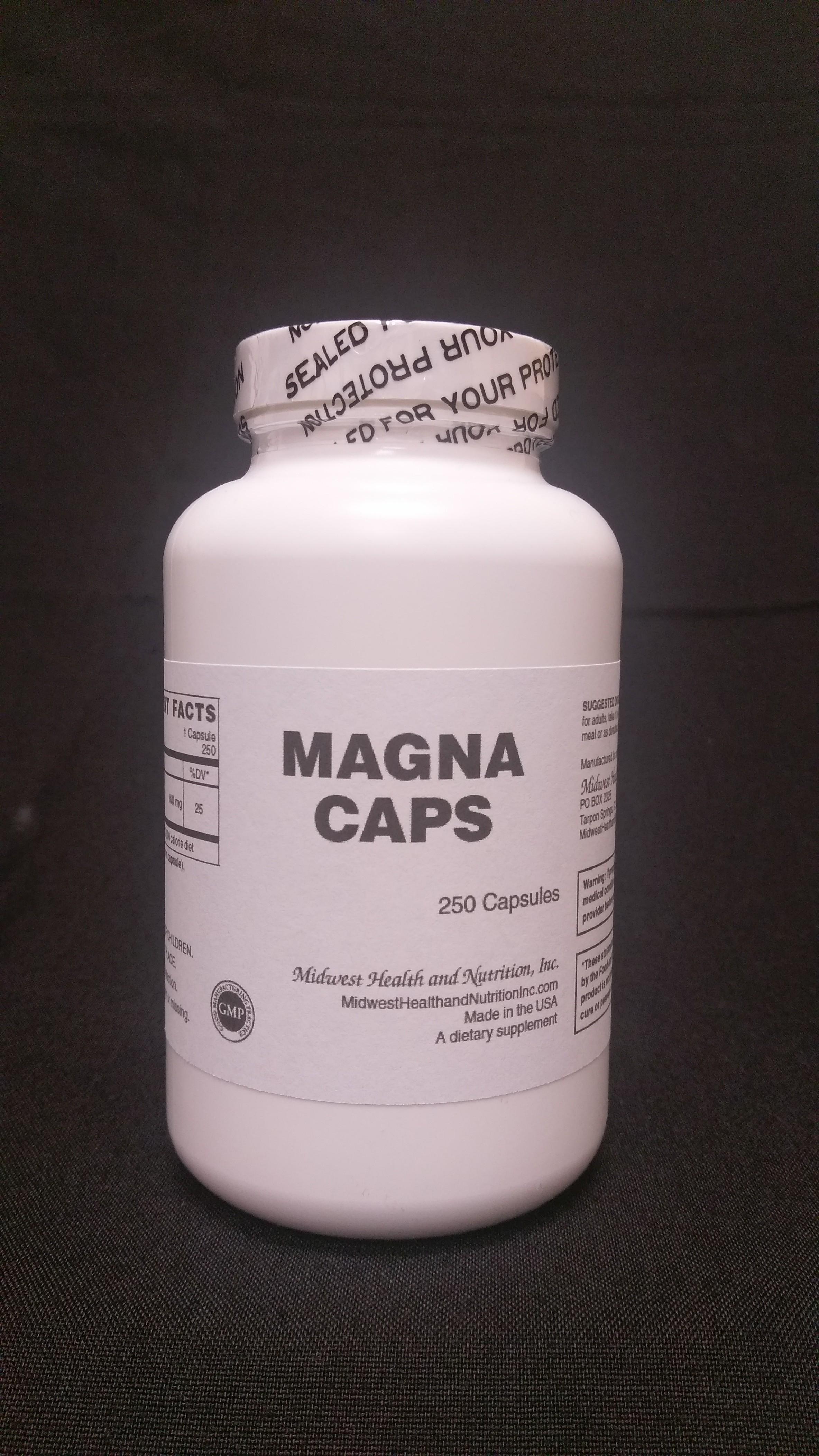 Magna Caps 250 count